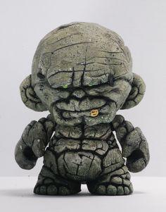 "Kevin Gosselin's Mini Munny Custom ""Golem"""