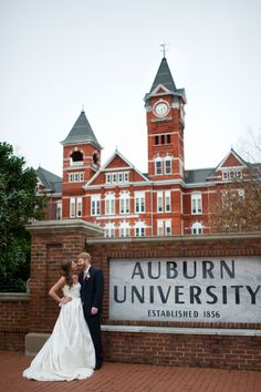 Wedding at Auburn University.  Now allowing ceremonies: Samford Lawn
