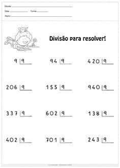 Math Exercises, Math Fractions, Teaching Kids, Homeschool, Geo, Alice, Class Activities, Multiplication Activities, Multiplication Problems