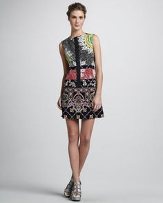 Rodeo Medallion Dress by Nanette Lepore at Neiman Marcus.