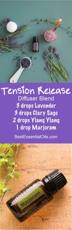 Tension Release doTERRA Diffuser Blend