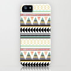 Aztec+3+iPhone+Case+by+Dream_scape+-+$35.00