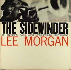 The Sidewinder by Lee Morgan. Designed by Reid Miles