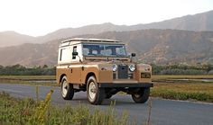 1964 Land Rover Series IIA 88 Station Wagon with tropical roof