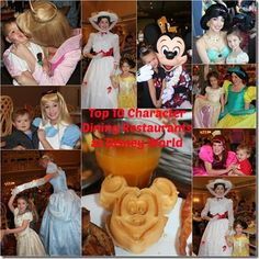 Top 10 Character Meals at Disney World heather@travelwiththemagic.com