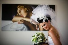 Gorgeous big bubble veils complete your wedding day look. //ohgraciepie: Veils... like pretty please, with a cherry on top