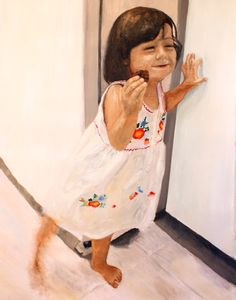 Isa, 2010 · oil on canvas ·180 × 142cm