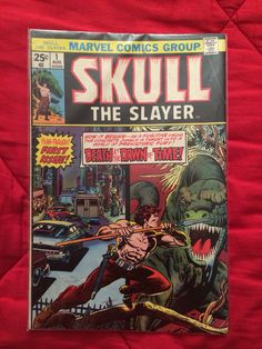 The first issue of Skull the Slayer featuring the first appearance of Skull the Slayer himself!