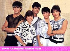 This was the biggest deal in the 80's! They were the SH**! MENUDO