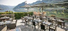 Das Seeplatzl | Seehotel Grundlsee Restaurant, Central Europe, Outdoor Decor, Home Decor, Vacation, Decoration Home, Room Decor, Diner Restaurant, Restaurants