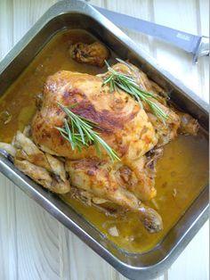 """pollo in potacchio"""" oftewel kip met ui en rode peper"""