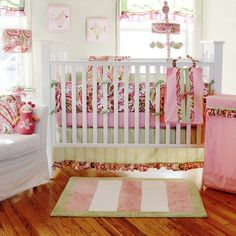 Paisley splash    http://www.target.com/p/my-baby-sam-paisley-splash-in-pink-4pc-crib-bedding-set-green-pink/-/A-11574721?reco=Rec pdp 11574721 ClickCP item_page.adjacency=Rec pdp ClickCP item_page.adjacency#reviews-and-ratings