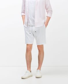Image 2 of SHORTS WITH CORD from Zara