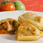 Sausage Mushroom Calzone recipe