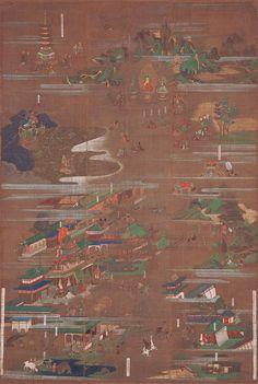 Lotus Sutra Mandala, Honpoji, Toyama, Japan, c. Lotus Sutra, Toyama, Buddhism, Worship, Mandala, Spirituality, Concept, Japan, Painting