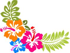 Stencil Decor, Stencil Art, Hawaiian Flowers, Hibiscus Flowers, Painted Window Art, Hand Painted, Hand Embroidery Patterns, Embroidery Designs, Hibiscus Clip Art