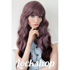Lockshop Wigs Mermaid Chocolate Cherry