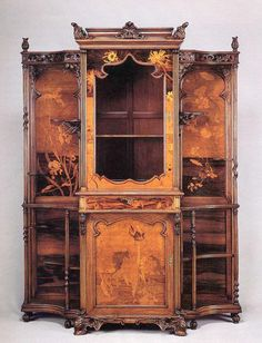 "Browse and forgotten - life and curiosities of past eras. - Furniture Art Nouveau. ""Ecole de Nancy"""