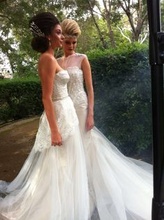 Romantic.. Gown by Mary Ioannidis Couture