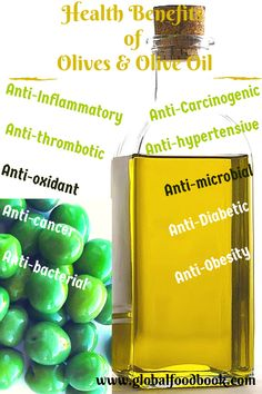 COOL Health Benefits of Olives and Olive Oil