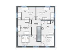 Weberhaus CityLife 600 Grundriss OG
