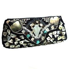 Handmade Mosaic Beauty Natural Shells Clutch (Philippines) | Overstock.com Shopping - Top Rated Clutches