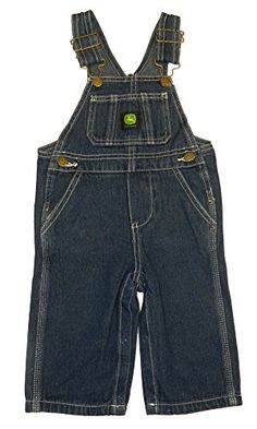 1b738afeb9f16 John Deere Kids Boys Soft Washed Denim Bib Overall >>> Find out more details