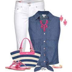 """""""Tie it up for Summer Contest"""" by kginger on Polyvore"""