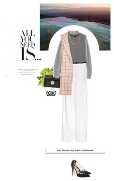 """""""She speaks her own language."""" by crilovesjapan ❤ liked on Polyvore featuring Topshop, Zara and Christian Louboutin"""