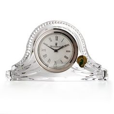 Dartington Crystal Clock Small Crystal