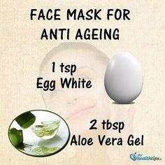 #healthytips #facemask #aloevera #aloe #eggs #eggwhitemask #eggwhites by beautyful_body_and_soul