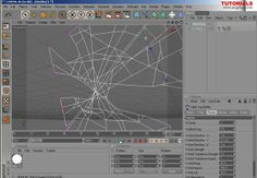 C4d Tutorial Dynamic SpiderWeb Part 1 on Vimeo