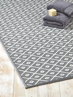 tapis contemporain tapis gris mystic saint maclou deco. Black Bedroom Furniture Sets. Home Design Ideas