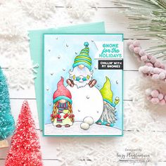 gnome for the holidays - Suzy Plantamura