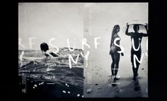 The Surf Lodge - Affiches by Alexandra Whitter, via Behance