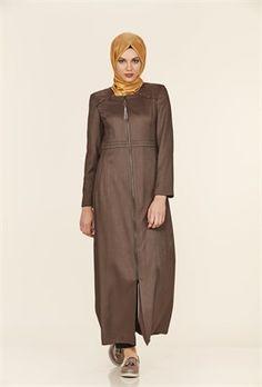 Nervür Detaylı Sıfır Yaka Haki Pardesü Normcore, Style, Fashion, Swag, Moda, Stylus, La Mode, Fasion, Fashion Models