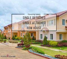 House & Lot Options: single detached, single attached, and row house defined #BuyingAHome #CaviteRealEstate