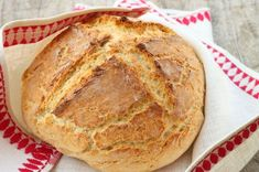 """""""A good old fashioned soda bread with just the basic ingredients. Buttermilk gives this crusty loaf a good flavor. The best Irish soda bread around! Easy Food To Make, How To Make Bread, Dutch Oven Breakfast, Irish Breakfast, Breakfast Ideas, Traditional Irish Soda Bread, Irish Soda Bread Recipe, Irish Bread, Italian Bread"""
