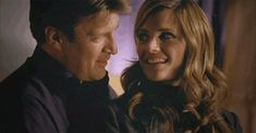 'Castle': 14 gifs that show how perfect Castle and Beckett are together Castle Tv Series, Castle Tv Shows, Loyalty Day, Richard Castle, Castle Beckett, Greys Anatomy Cast, Tv Couples, Great Tv Shows, Thomas Brodie Sangster