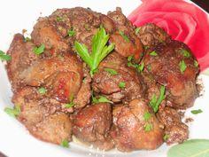 """Yamy mami!"" Retete culinare: FICATEI DE PUI LA CEAUN Pot Roast, Food And Drink, Beef, Chicken, Ethnic Recipes, Carne Asada, Meat, Roast Beef, Ground Beef"