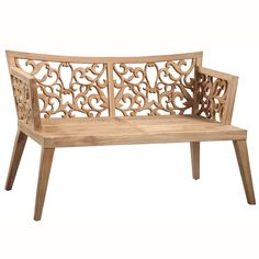 """Ulrik Premium Teak Bench <BR><BR> • 55"""" L x 26"""" D x 29"""" H<BR> • Solid Premium Teak<br> • Indoor/Outdoor Use <BR> <BR><BR> <strong>Return Policy</strong>  Please make sure to review all photos and ask questions before purchasing. This item is not eligible for returns or exchanges. <a href=/no-returns target=""""_blank"""">Click here for a list of brands that are non-returnable</a>."""