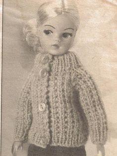 Vintage Knitting Pattern Sindy Dolls 70s Magazine Pattern by PreciousIdentity on Etsy