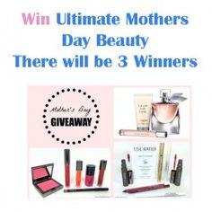 Win Ultimate Mothers Day Beauty There will be 3 Winners ^_^ http://www.pintalabios.info/en/fashion-giveaways/view/en/3410 #International #Cosmetic #bbloggers #Giweaway