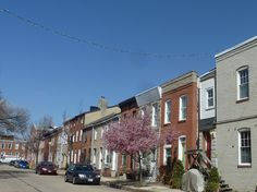 Baltimore Row Houses - Corner of Dillion Street in Canton by litlesam, via Flickr