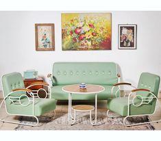 Desain Ruang Tamu Vintage Untuk Minimalis
