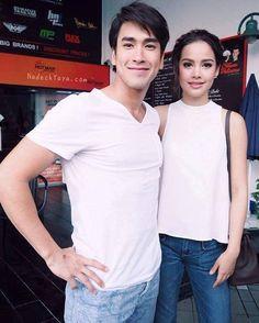 Ladies Gents, Thai Drama, Sweet Couple, Actor Model, Celebrity Couples, Asian Style, Bellisima, Portrait Photography, Beautiful People
