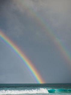 Wave / Beach / Rainbow / Surfing / Windsurfing / Yoga / Hula / Surf Fashion / Hawaii / Maui /...