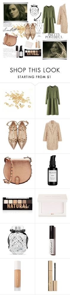 """""""Adele for the sing ''Hello''"""" by azra612 ❤ liked on Polyvore featuring Rika, Valentino, Elizabeth and James, Rebecca Minkoff, Root Science, NYX, Puma, Victoria's Secret, Stila and adele"""