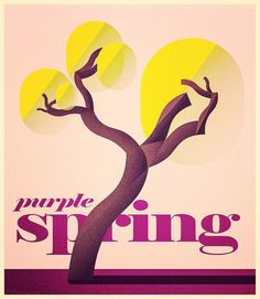 """""""purple spring"""" tree illustration #picame #iconaday #design #illustration #illustrator #designarf #graphicdesign #graphicroozane  #instaartist #simple  #vectorgraphics #print #illustree #shooart  #pirategraphic #art #design #minimal  #instaart #instagood #instaartist #vectorart #photooftheday #illustrations #artworks #vectorworks  #bookcover #book #edition #tshirtdesign #visforvector by a_rholem_art"""