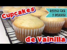 Los Mejores CUPCAKES DE VAINILLA / Vanilla Cupcakes Recipe || DESDE MI COCINA by Lizzy - YouTube
